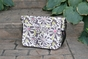 Charcoal Floral Seattle Baby Bag by Amy Michelle - click to Enlarge
