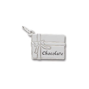 Chocolate Box Charm by Forever Charms - Personalized