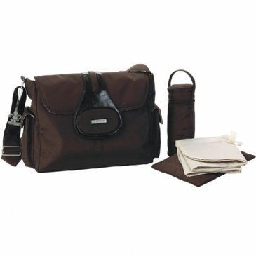 Chocolate Elite Diaper Bag by Kalencom