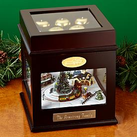 Christmas Carols Music Box - Personalized