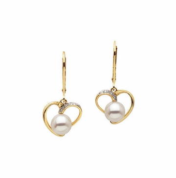 Classic Beauty Freshwater Pearl Earrings