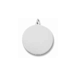 Classic Extra Large Disc Charm by Forever Charms - Personalized