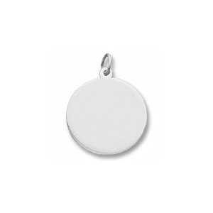 Classic Medium Disc Charm by Forever Charms - Personalized