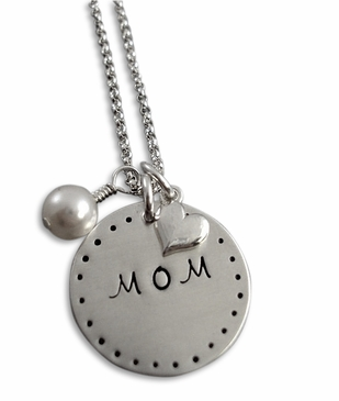 Classic Mom Sterling Silver Necklace