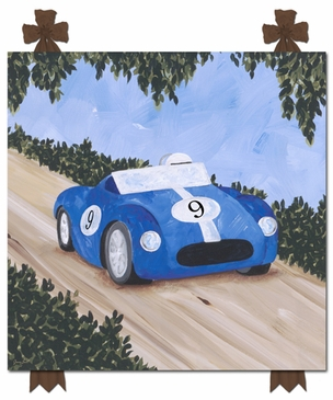 Classic Roadster II Stretched Art Personalized by Dish and Spoon