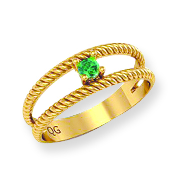 Classic Rope Style Family Ring
