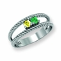 Classic Rope Style Family Ring - click to Enlarge
