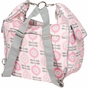Cora Convertible Modern Floral Diaper Bag by Bumble Bags - click to Enlarge