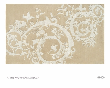 Cosa Bella Beige Tufted Rug