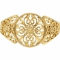 Cuff Bracelet with Filigree Design - click to Enlarge