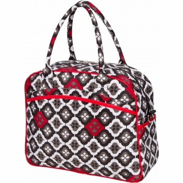 Dana Daytripper Royal Ruby Montage Diaper Bag by Bumble Bags