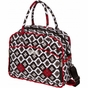 Dana Daytripper Royal Ruby Montage Diaper Bag by Bumble Bags - click to Enlarge