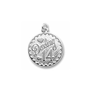 Darling 14 Charm by Forever Charms - Personalized