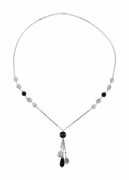 Delicate Gemstone & Pearl Necklace