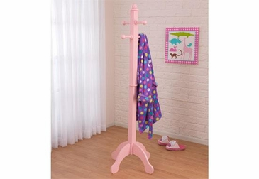 Deluxe Clothes Pole - Pink