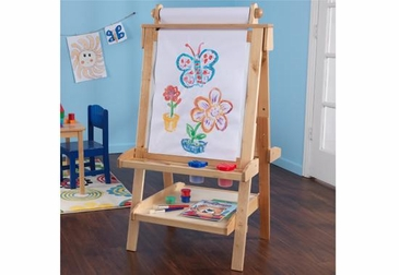 Deluxe Wood Easel in Natural