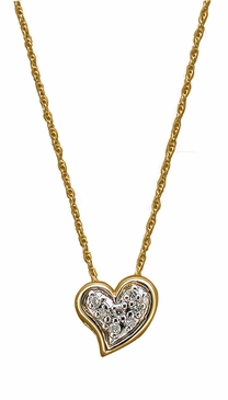 Diamond Sweetheart Necklace