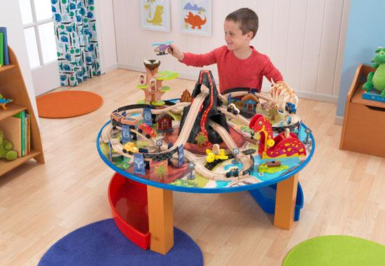 Dinosaur Train Table and Set | Bliss Living
