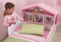 Dollhouse Toddler Bed - click to Enlarge