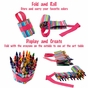 Doodlebugz Pink Stripe Crayon Keeper - click to Enlarge