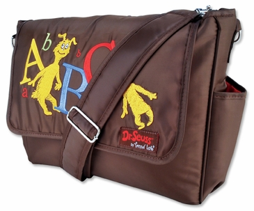 Dr. Seuss Abc Diaper Messenger Bag
