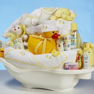 Ducky & Friends Baby Gift Basket