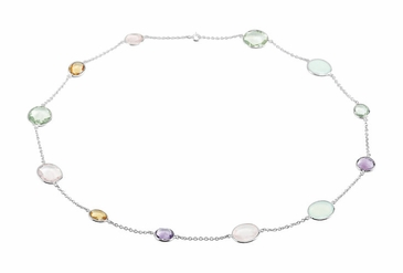 Elan Multi-Gemstone Necklace