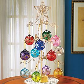 Elegant Christmas Tree Ornament Stand