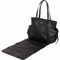 Embossed Black Diaper Bag by Bumble Bags - click to Enlarge