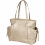 Embossed Gold Diaper Bag by Bumble Bags - click to Enlarge