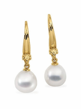 Exotic South Sea Pearl Earrings
