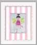 Fairy Brunette Framed Canvas Wall Art - click to Enlarge