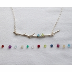 Family Branch Birthstone Necklace