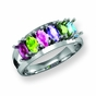 Family Marquise Birthstone Ring - click to Enlarge