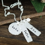 Family Pendants Necklace