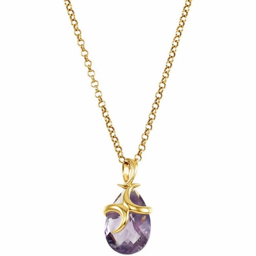Fashion Amethyst Missoma Pendant Necklace