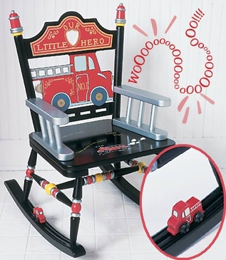 Fire Engine Rocking Chair