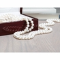 Flawless freshwater cultured pearl necklace - click to Enlarge