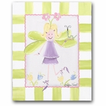 Flower Fairies - Fairy Blonde Canvas Wall Art