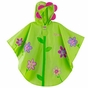 Flower or Monkey Kids Rain Poncho - click to Enlarge