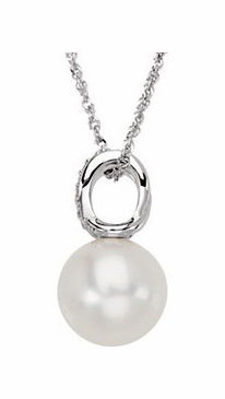 Freshwater Black cultured Baroque Pearl Chain Necklace