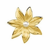 Freshwater Cultured Pearl Brooches