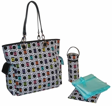 Fusion - Maxi Tote Diaper Bag by Kalencom