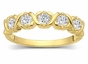Gold Sparkle Family Ring - click to Enlarge
