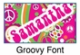 """Groovy Canvas Wall Art Personalized - 15"""" x 15"""" - click to Enlarge"""