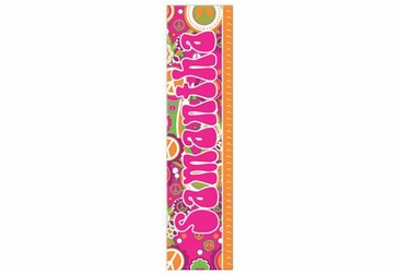 Groovy Growth Chart Personalized