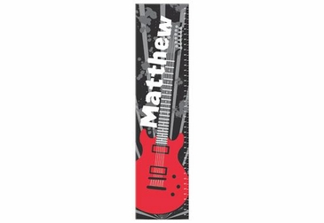 Guitar Growth Chart Personalized