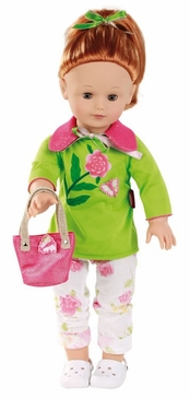 "HABA Julia 18"" Red Head Doll"
