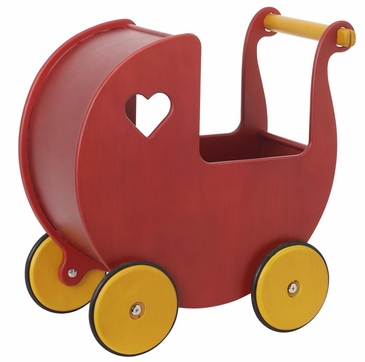 HABA Moover Dolls Pram Red