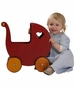 HABA Moover Dolls Pram Red - click to Enlarge
